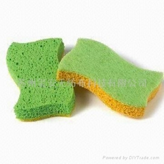 Cellulose Sponge, Available in Various Colors