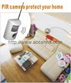 Mini PIR Detection SD Card DVR Camera Night Vision CCTV Surveillance Monitor DVR