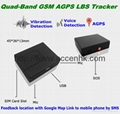 Global Indoor Outdoor GSM LBS Tracker Spy Audio Bug W/ SOS Alarm & 2-Way Calling