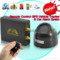 Remote Control Vehicle GPS Tracker Car Safety Alarm System GPS106B W/ Microphone