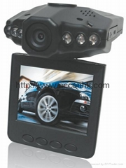 "HD 720P Mobile DVR with 270 Degree Rotatable 2.5"" LCD Screen & Night Vision"