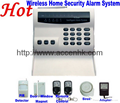 Wireless 8 Zone Intelligent PSTN Telephone Landline Home Security Alarm System