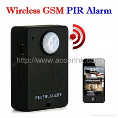 A9 PIR MP. Alert Infrared Sensor GSM Wireless Alarm Monitor Motion Detection Bug