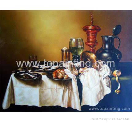 Still Life Oil Paintings On Canvas