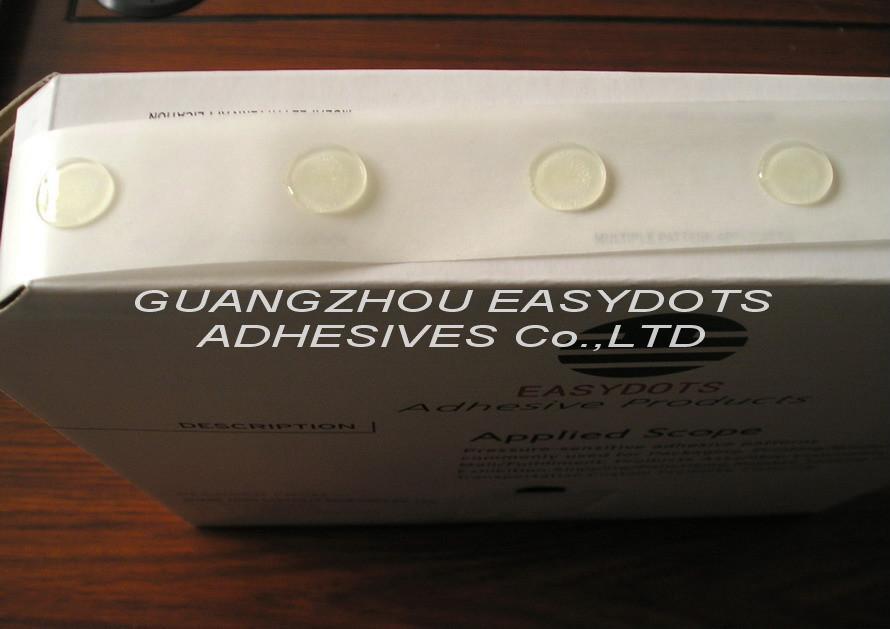 无痕塑胶制品定位装订胶贴-Glue Dot双面胶 5