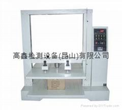 苏州纸箱抗压试验机、纸管抗压试验机、MIT式耐折强度试验
