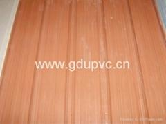 heat insulation upvc roof tile