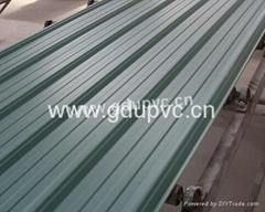 3 layer heat insulation upvc roof tile