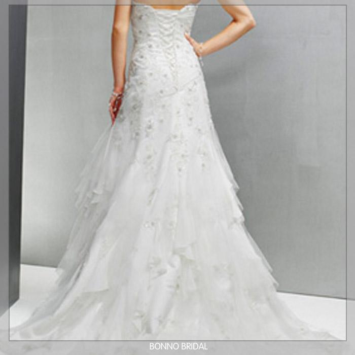 wedding dress5317 5321 fish train dress 3