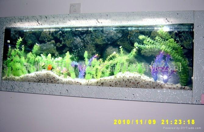 三友精品生态壁挂鱼缸 4