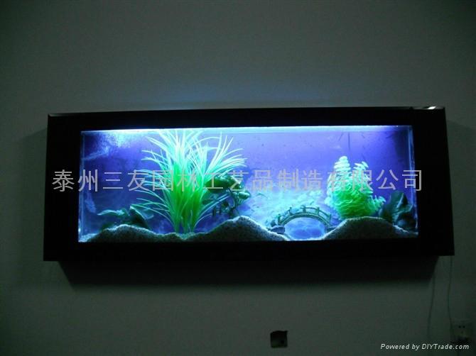 三友精品生态壁挂鱼缸 5