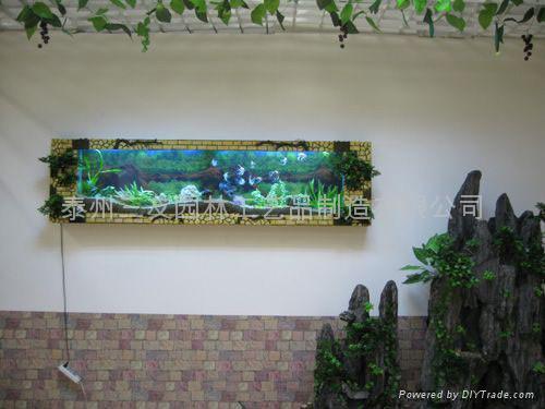 文化石系列壁挂鱼缸 3