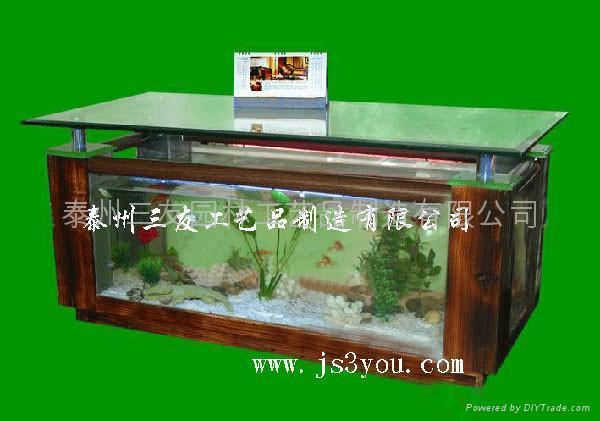 家居装饰最实用的时尚茶几鱼缸 2