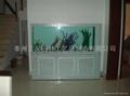 烤漆玻璃屏风式生态鱼缸 2