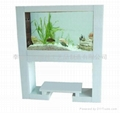 烤漆玻璃屏风式生态鱼缸 3