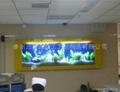 三友生态壁画鱼缸