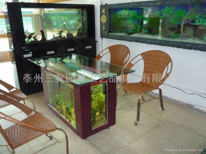 生态茶几鱼缸 2
