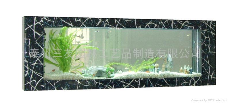三友精品生态壁挂鱼缸 3