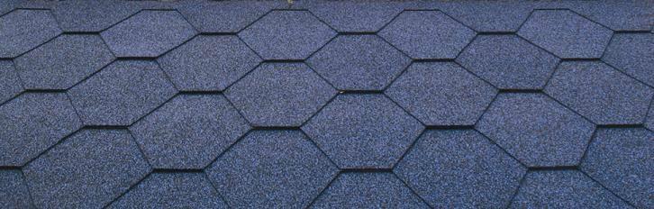 Mosaic Pattern Fiberglass Asphalt Shingle Hc Bgf