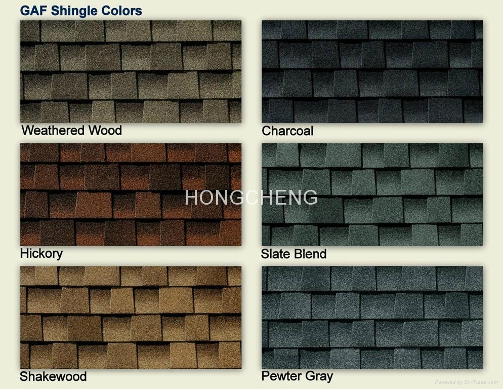 Laminated Asphalt Shingles Double Layer Hc Bgf