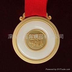 獎牌,金鑲玉獎牌,獎章