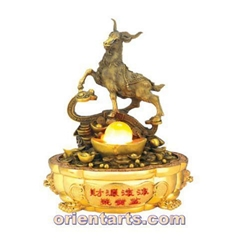 Wholesale Bronze made Feng Shui Water Fountains