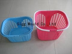 塑料篮子模具