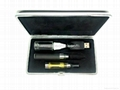 ego e cigarete with leather case