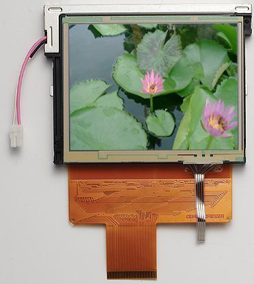 3.9' LCD touch panel 1