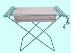 towel dryer, heated towel rack, aluminum towel warmer