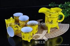 Ancient Style Porcelain Tea Set Tablewares Giftwares