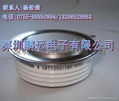 SKT1200/16E西门康平面晶闸管深圳鹏远电子长期供应