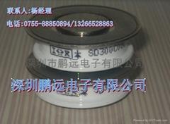 SD300C08C平面晶闸管深圳鹏远电子长期供应
