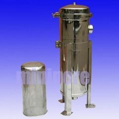 water bag filter housing