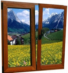 aluminum wood complex window and door