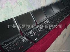 广州电脑笔记本租赁(彩易视听)