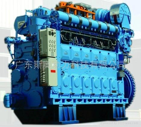 船用发动机图片_发动机图片发动机样板图厦门船用中速发动机