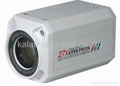 Zoom Box CCD camera cctv camera 27X box zoom camera