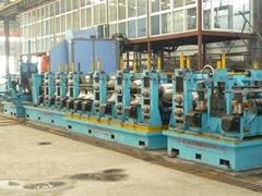 ERW welded steel pipe making machine