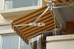 加強高檔戶外伸縮蓬電動雨篷