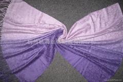women's dyeing fashion shawl