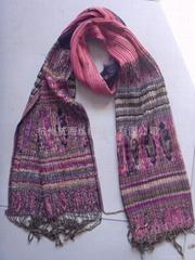 crinkle pashmina scarf