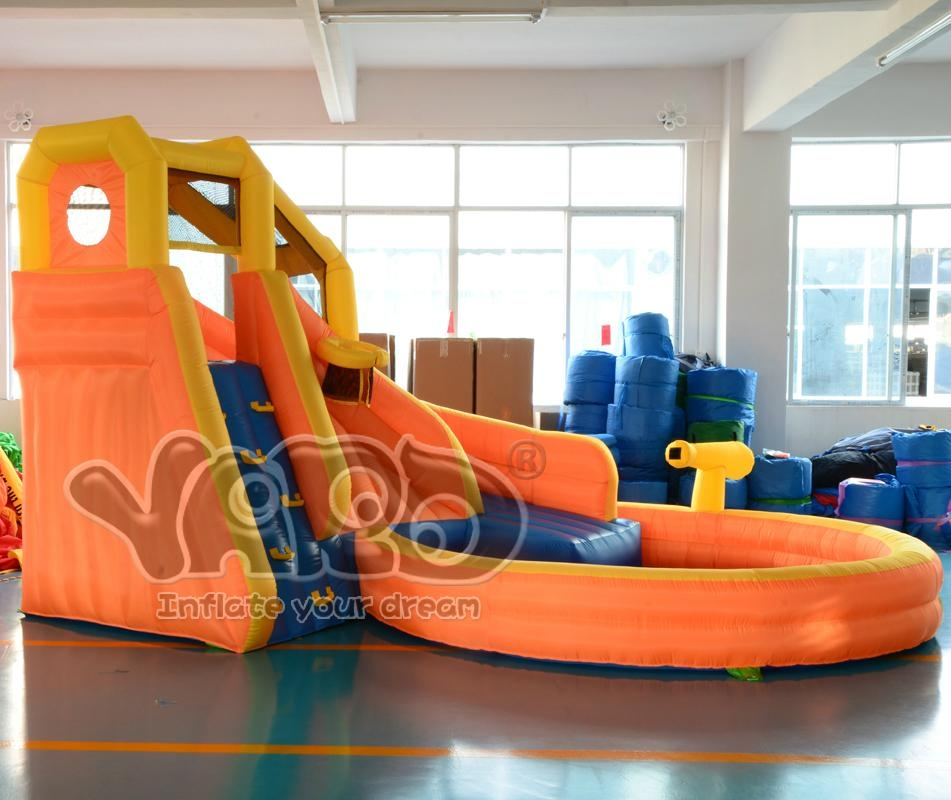 Water slide inflatable slide inflatable water slide with cannon 2