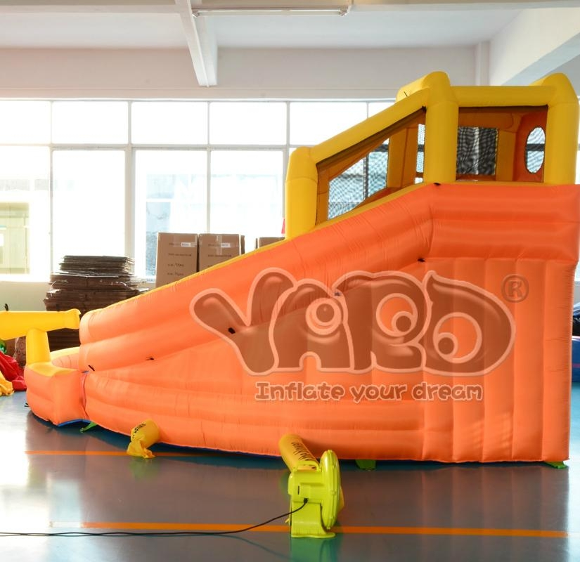 Water slide inflatable slide inflatable water slide with cannon 4