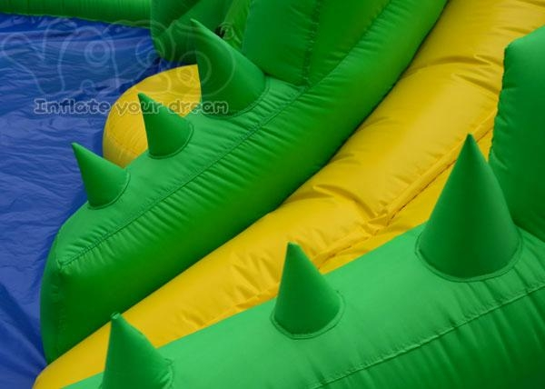 Crocodile water slide inflatable water park inflatable slide 3