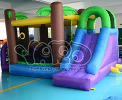 Jungle bounce house infl