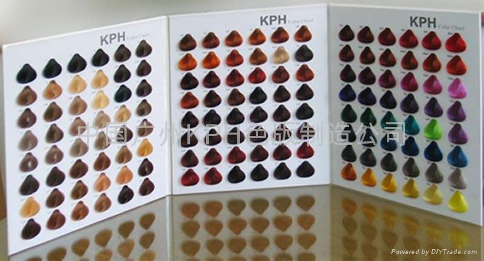 Thousands of color swatches hair dye color chart (China Manufacturer)