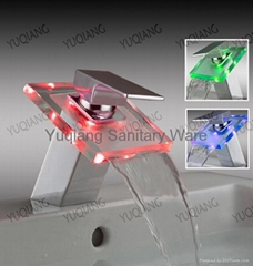 Glass LED Faucet(without Battery)
