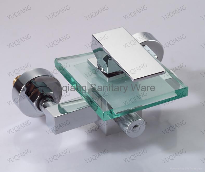 Glass Bathtub Mixer(6100-24B) 1
