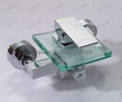 Glass Bathtub Mixer(6100-24B)